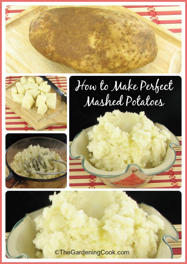 The secrets to perfect creamy and fluffy mashed potatoes, every time. #comfortfoods