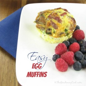 Super Easy Egg Muffins - a great alternative to take away breakfasts