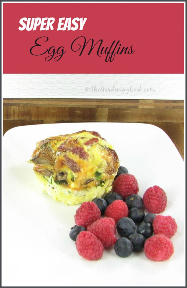 Super Easy Egg Muffins - a great alternative to fast food