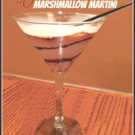 Chocolate marshmallow martini - Olive Garden Knock off