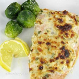 Parmesan Crusted Salmon with Tarragon