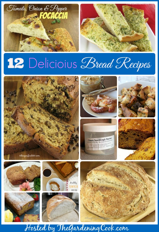 12 of the Most delicious bread recipes out there.