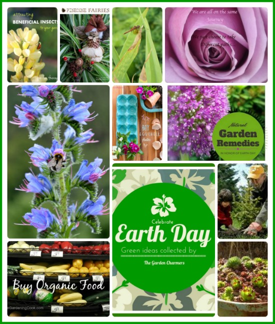 Celebrate Earth Day with The Garden Charmers #EarthDayProjects