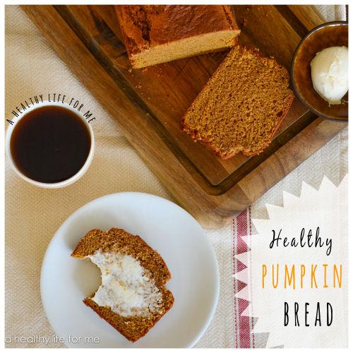 A healthier pumpkin bread recipe