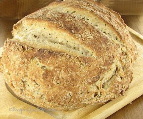 Hearty whole grain Italian Herb bread