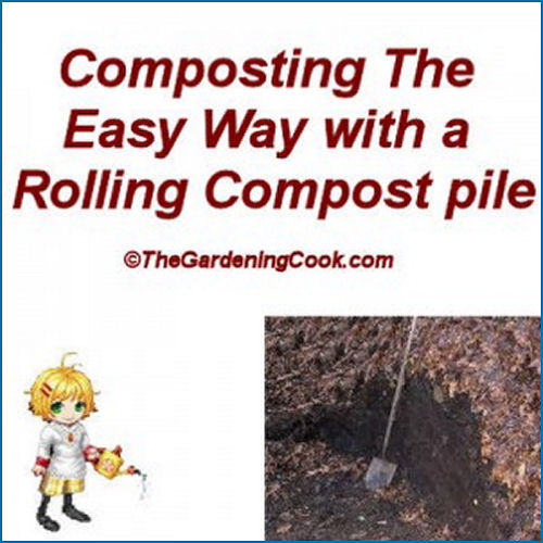 Make a compost pile for Earth day #EarthDayProjects