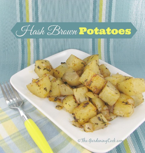 hash browns to cook for a Sunday Brunch? These delicious hash browns ...