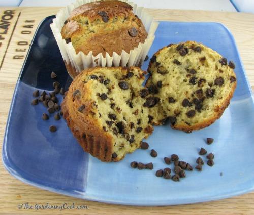Yummy chocolate ship muffins - Jumbo sized bakery style treats