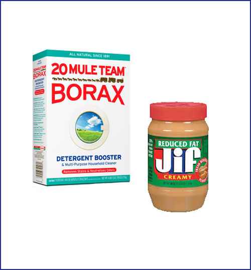 Peanut butter and Borax as an ant killer