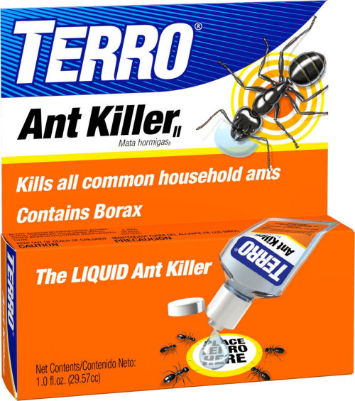 Terro Ant Killer also uses Borax as a main ingredient