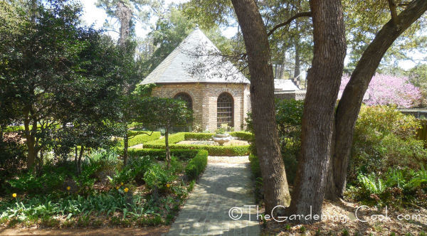 Elizabethan Garden Entry at the Outer Banks in Manteo, NC.