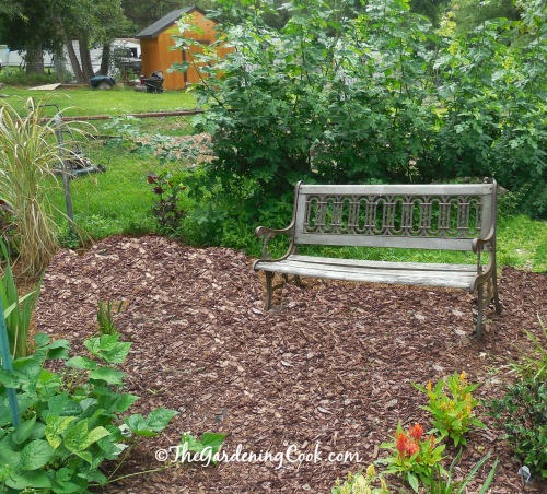 Park Bench seating area