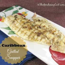 Caribbean Grilled Snapper