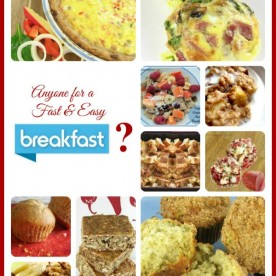 10 Fast and Easy Breakfasts - thegardeningcook.com/
