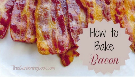 how to cook bacon in oven uk