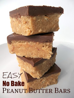 reese's peanut butter no bake bars