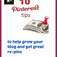 10 Pinterest Tips to help grow your blog