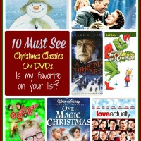 My top 10 must see Christmas Classics on DVD. Is my favorite on your list? See them at thegardeningcook.com/