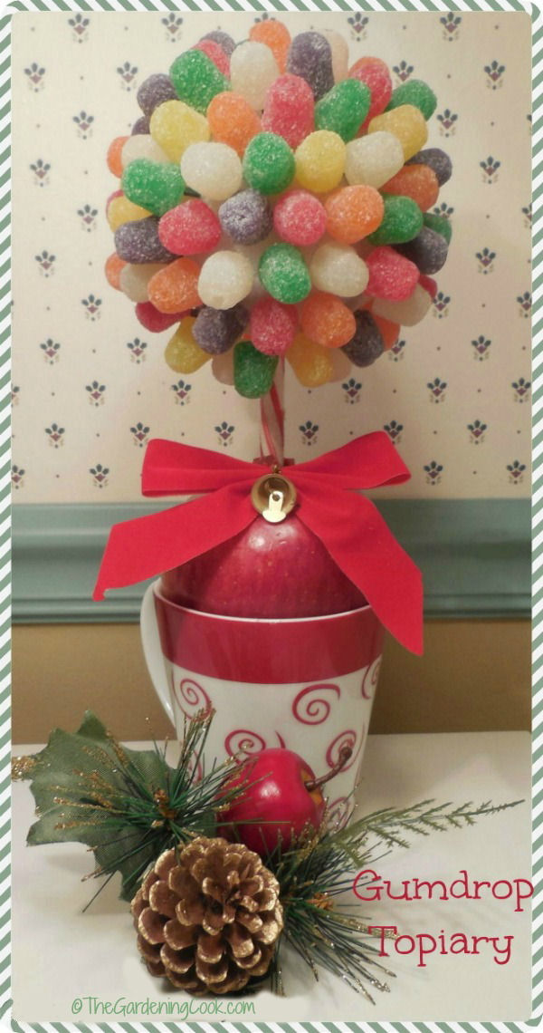 Do it Yourself – Gumdrop Candy Topiary