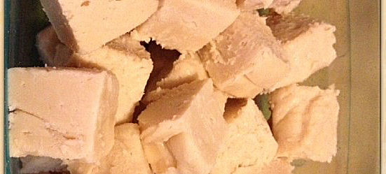 Old fashioned maple fudge from myworldsimplified.com