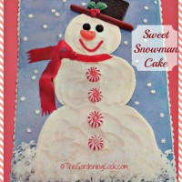 Sweet Snowman Christmas take - picture tutorial!