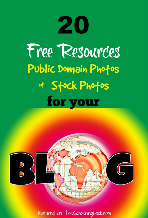 20 Free Sources for Public Domain Photos and Free stock photos for your blog