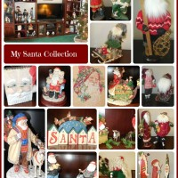 See my Santa Claus collection on http://alwaystheholidays.com/christmas-home-tour-my-santa-claus-collection/