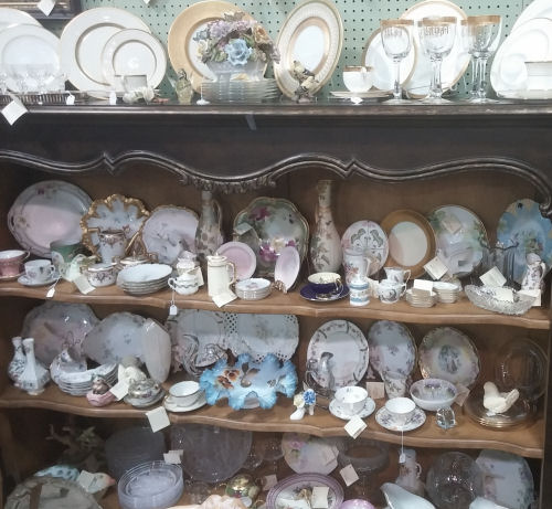 antique plates