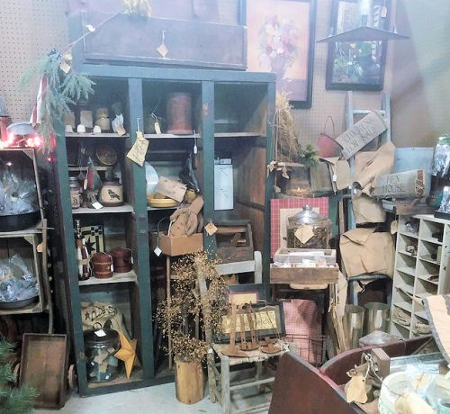 antique hunting