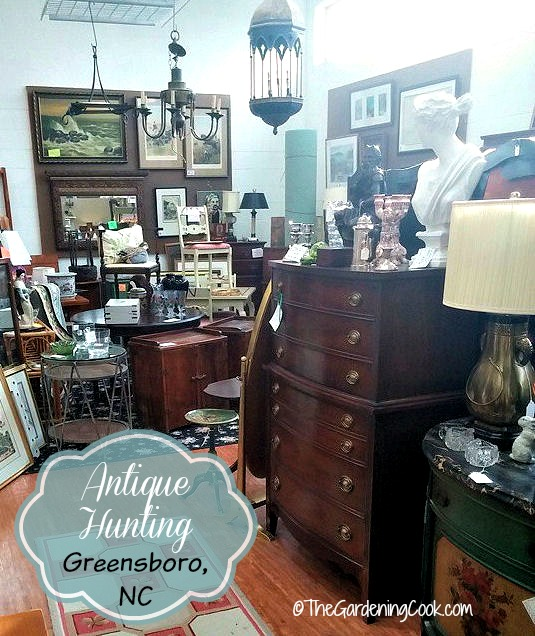 Antique Hunting in Greensboro, NC