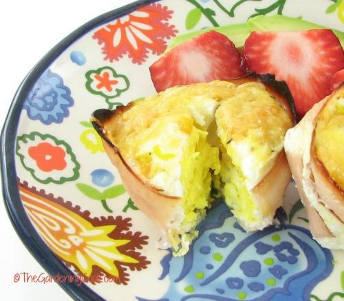Gluten free egg cups