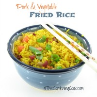 Pork and Vegetable Fried Rice