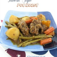 Slow Cooker Tavern Style Pot Roast