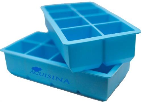 Acuisina Extra Large Silicone Ice Cube Trays