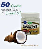 50 creative uses for Coconut oil