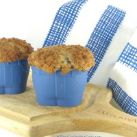 Muffin tops blueberry muffins