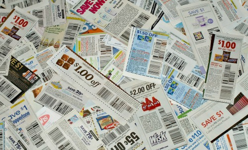 Plan ahead and use coupons to save money