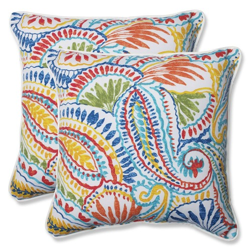Ummi Multi Colored Outdoor Pillows The Gardening Cook