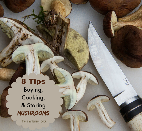 Tips for Cooking with Mushrooms