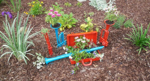 Musical planters