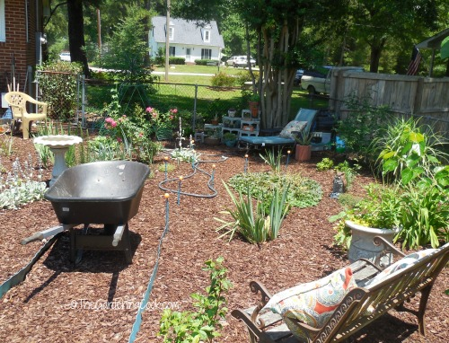 Make room for your wheelbarrow