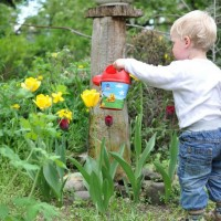 Get the kids involved with gardening chores