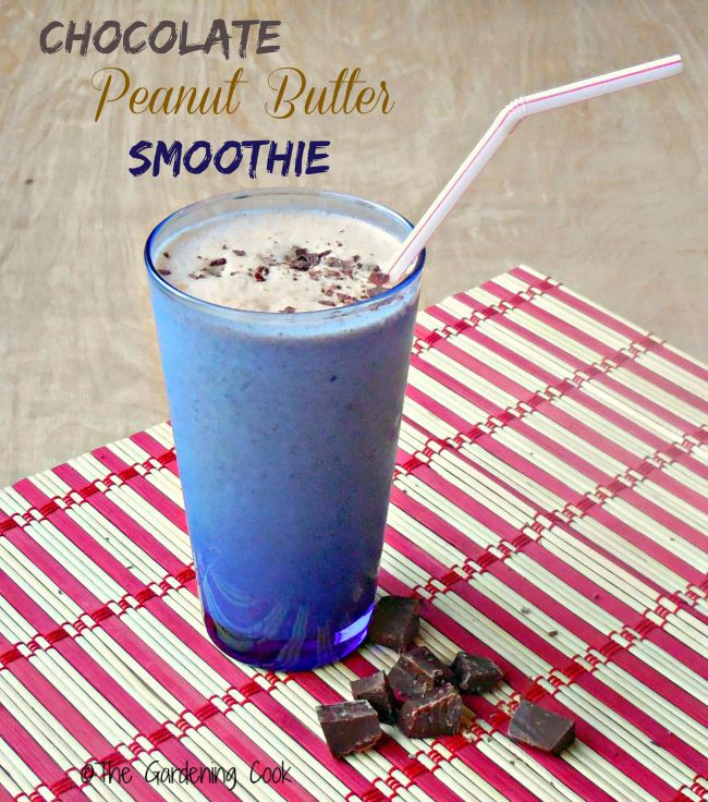 This Chocolate peanut butter smoothie makes a great breakfast or pre-workout option and doesn't break the calorie bank. And it tastes great too!