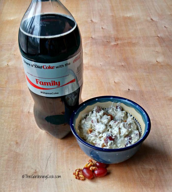 coke and potato salad