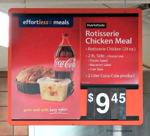 Walmart's Effortless meals