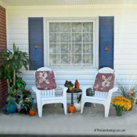 Fall Patio make over