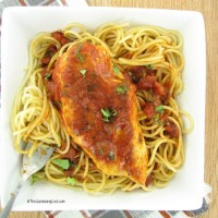 Tuscan inspired Tomato basil chicken