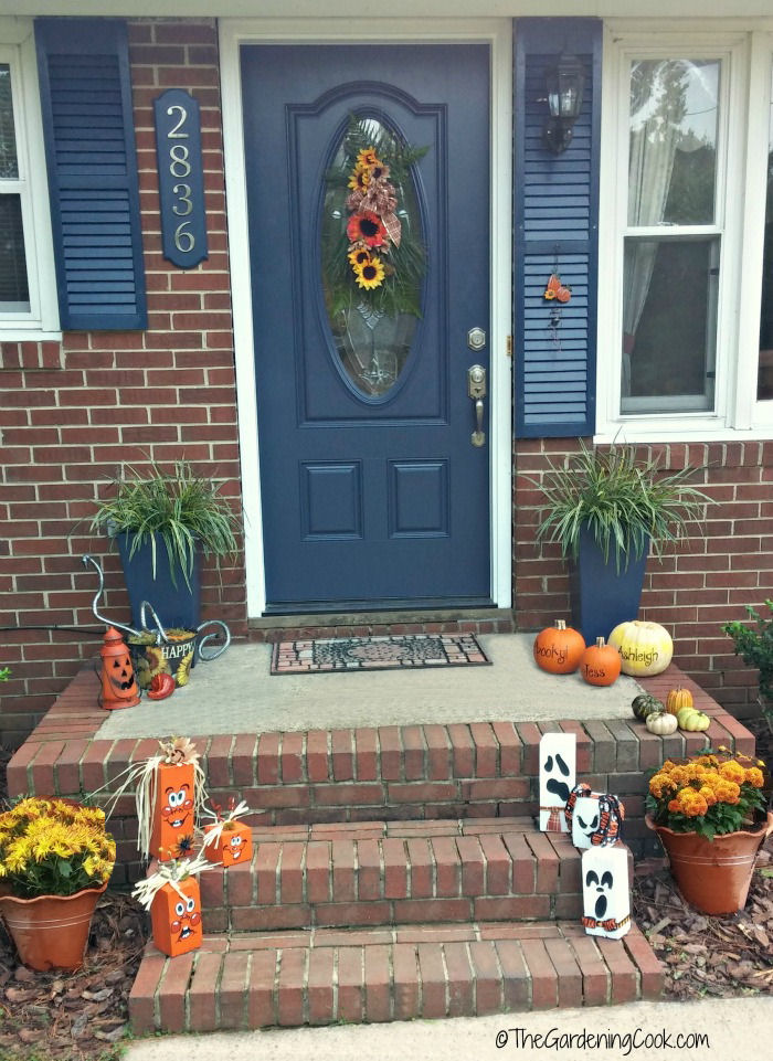 Front Porch make over for autumn