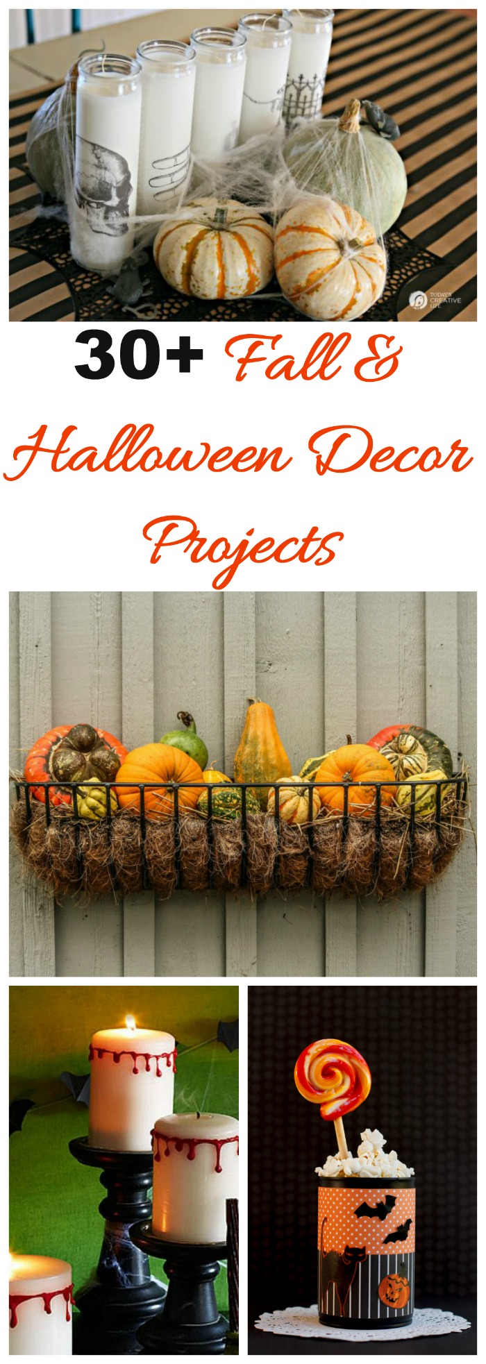 Thees 30+ Halloween Decor projects will transform your home into a spooky and eerie place for the holiday