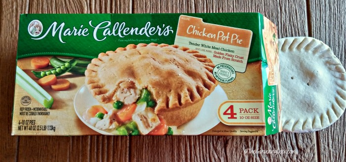 Marie Callender chicken pot pie